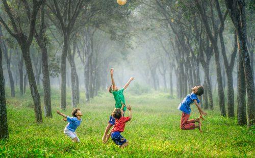 What happens when children play?